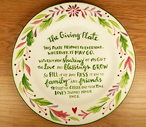 Airdrie The Giving Plate