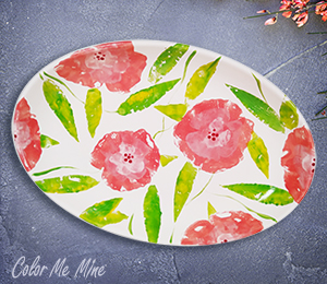 Airdrie Floral Paper Stamping
