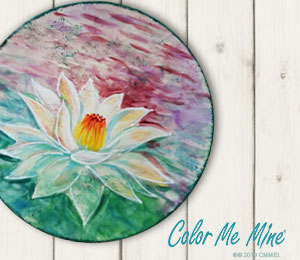 Airdrie Lotus Flower Plate