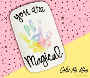Airdrie Rainbow Hand-print
