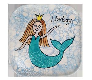 Airdrie Mermaid Plate