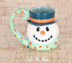 Airdrie Snowman Mug