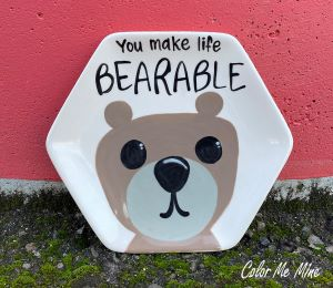 Airdrie Bearable Plate