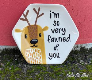 Airdrie Fawn Plate